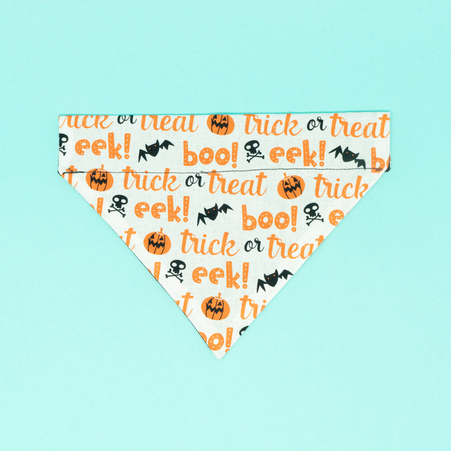 Trick or Treat Dog Bandana - The Woof Warehouse