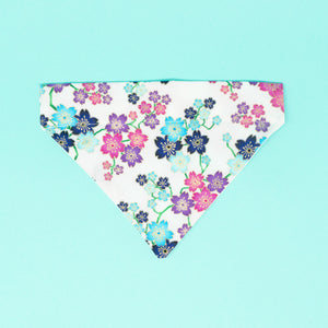 Flowers Dog Bandana - The Woof Warehouse