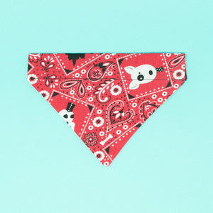 Red Dog Park Dog Bandana - The Woof Warehouse