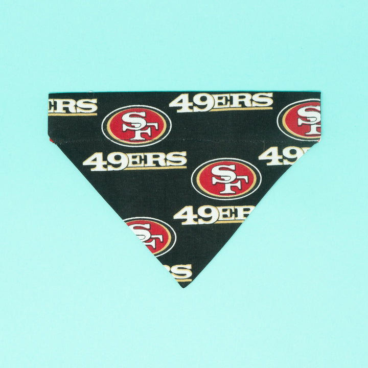 San Francisco 49ers Dog Bandana - The Woof Warehouse