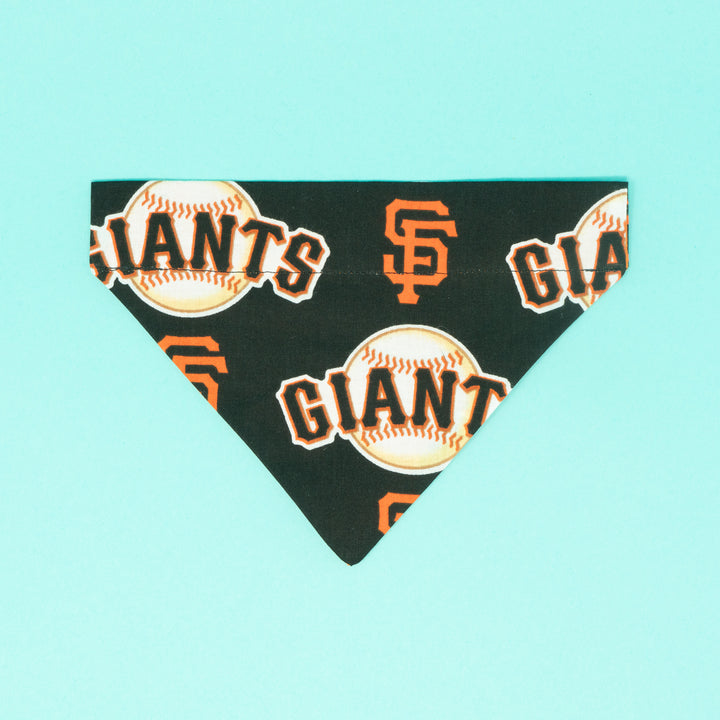 SF Giants in Black Dog Bandana - The Woof Warehouse
