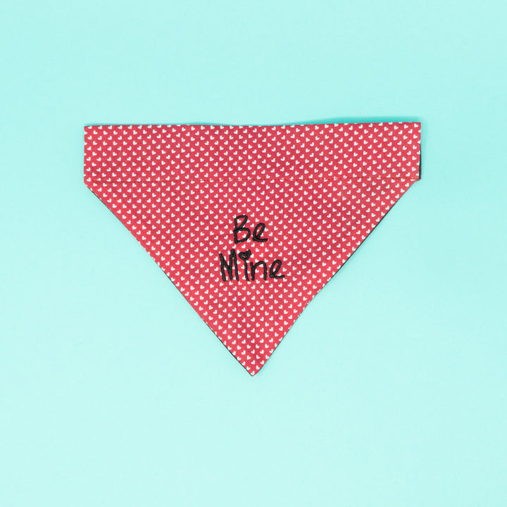 Be Mine Valentines Dog Bandana - The Woof Warehouse