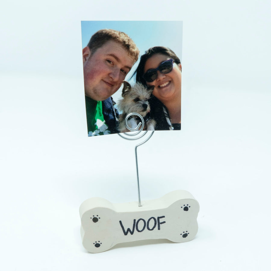 Dog Bone Memo/Picture Holder - The Woof Warehouse