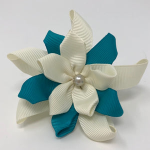 Over Collar Ribbon Flowers - The Woof Warehouse