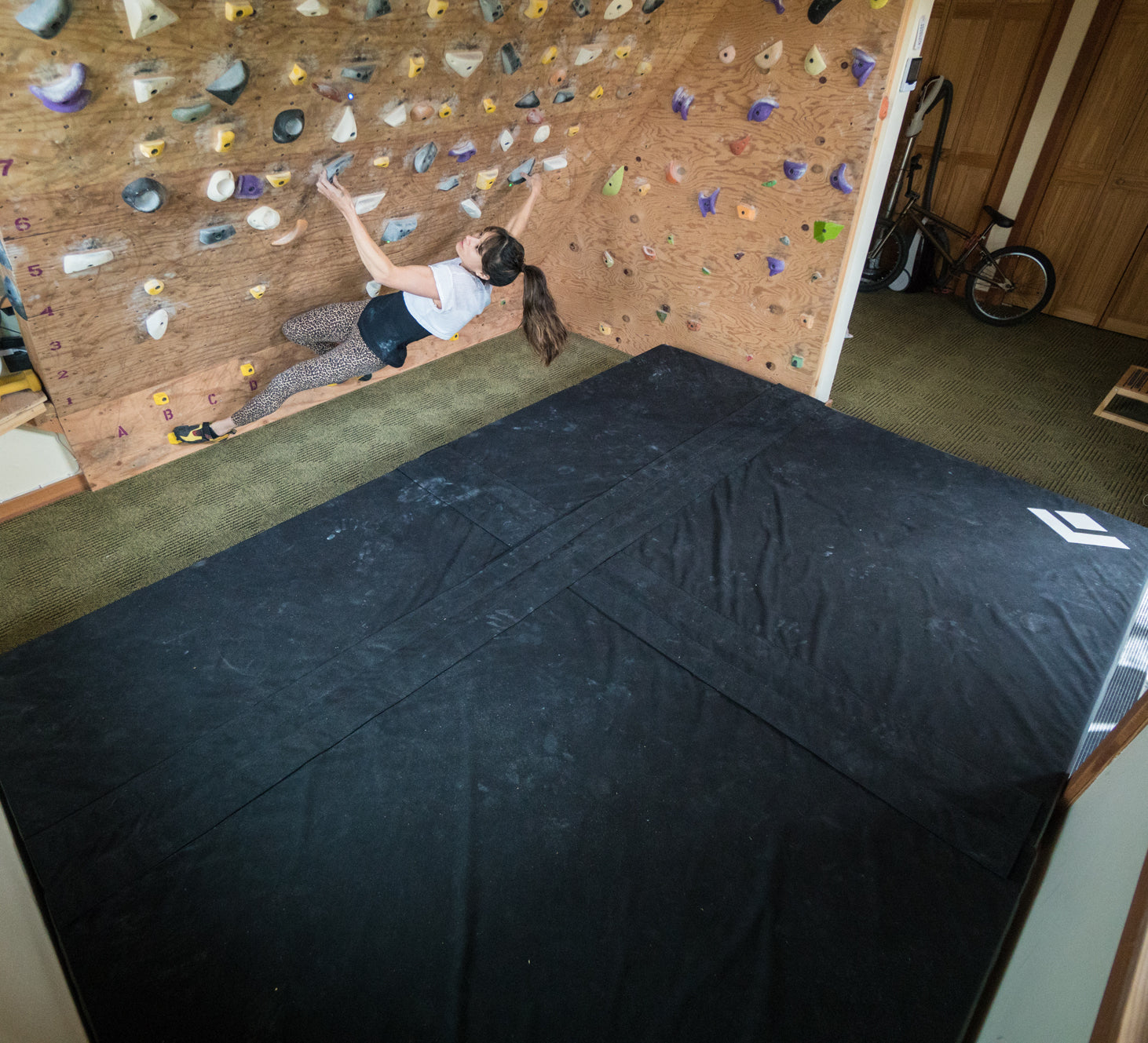 Building a rock climbing wall only climbing gym rip building a