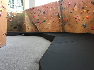 Custom Climbing Wall Padding University of Utah