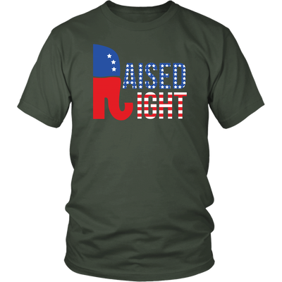 Raised Right Shirt