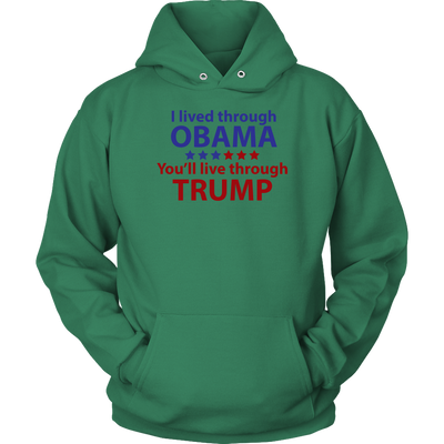 Survived Obama Hoodie