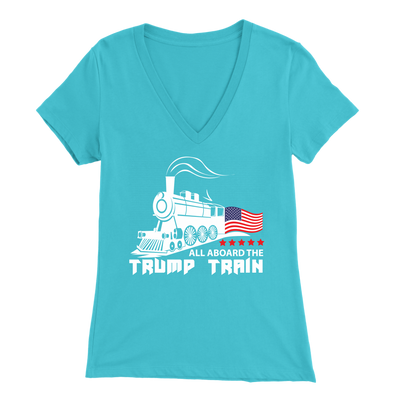 Trump Train V-Neck