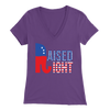 Raised Right V-Neck