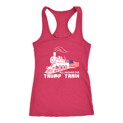 Trump Train Racerback Tank