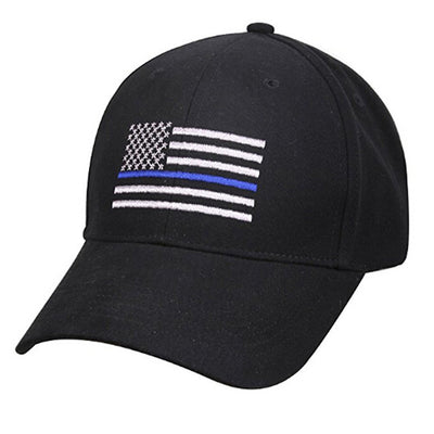 American Flag Blue Line Hat