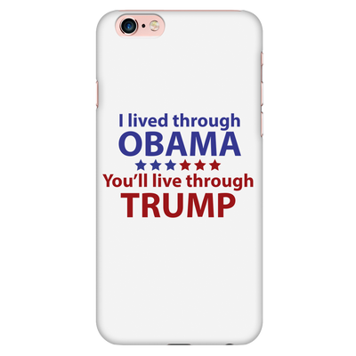 Survived Obama Phone Case