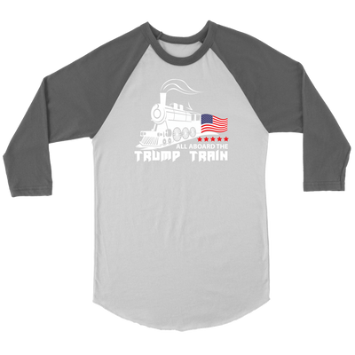 Trump Train Raglan Long Sleeve