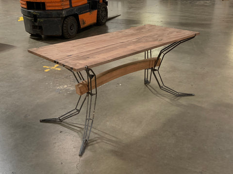 Eric Blanpied Furniture - Arc Trestle Table