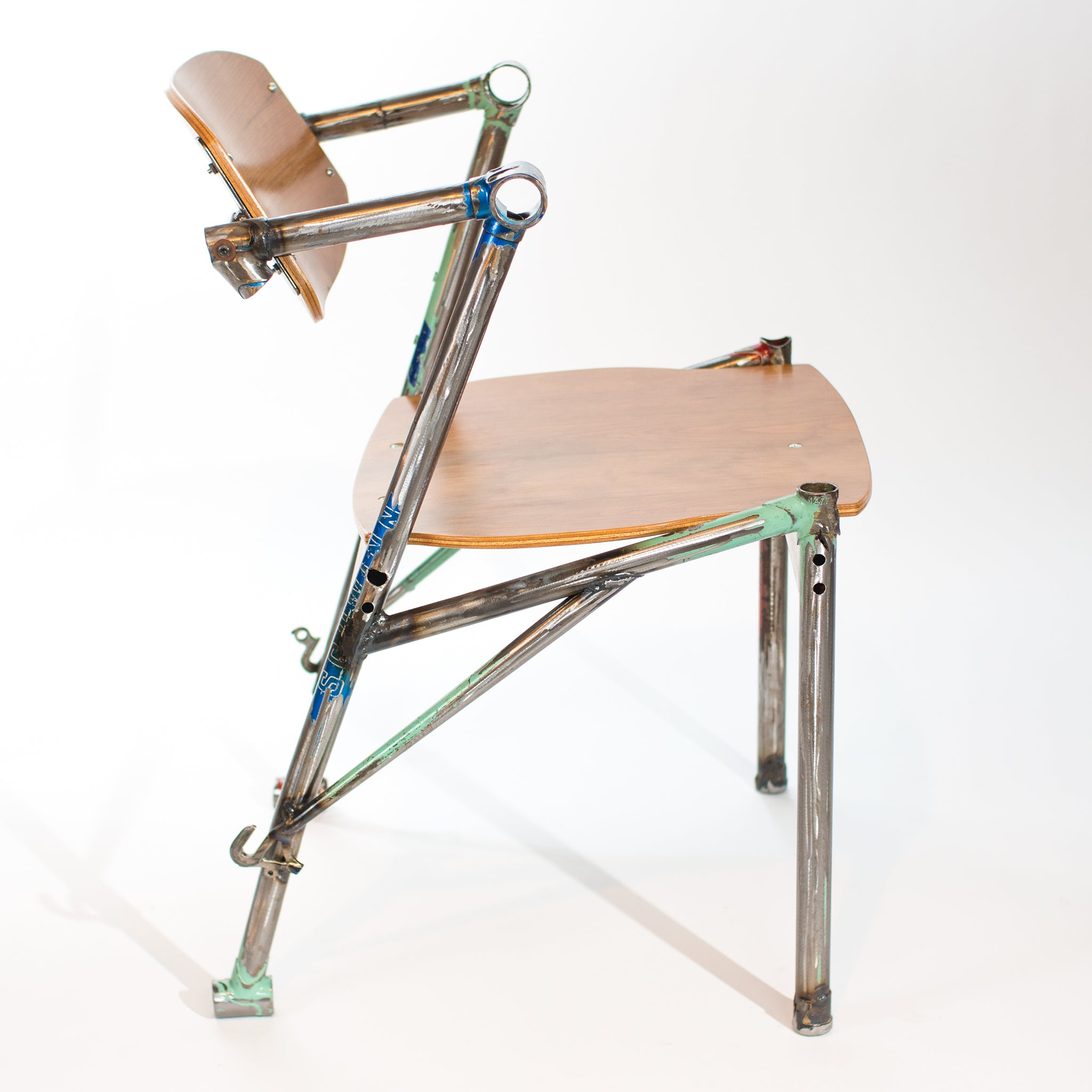 ... Eric Blanpied Furniture - Bike-Z Chair Bicycle Frames and Bent Plywood ...  sc 1 st  Eric Blanpied Furniture & Eric Blanpied Furniture - Bike Z Chair Recycled Bicycle Frames and ...