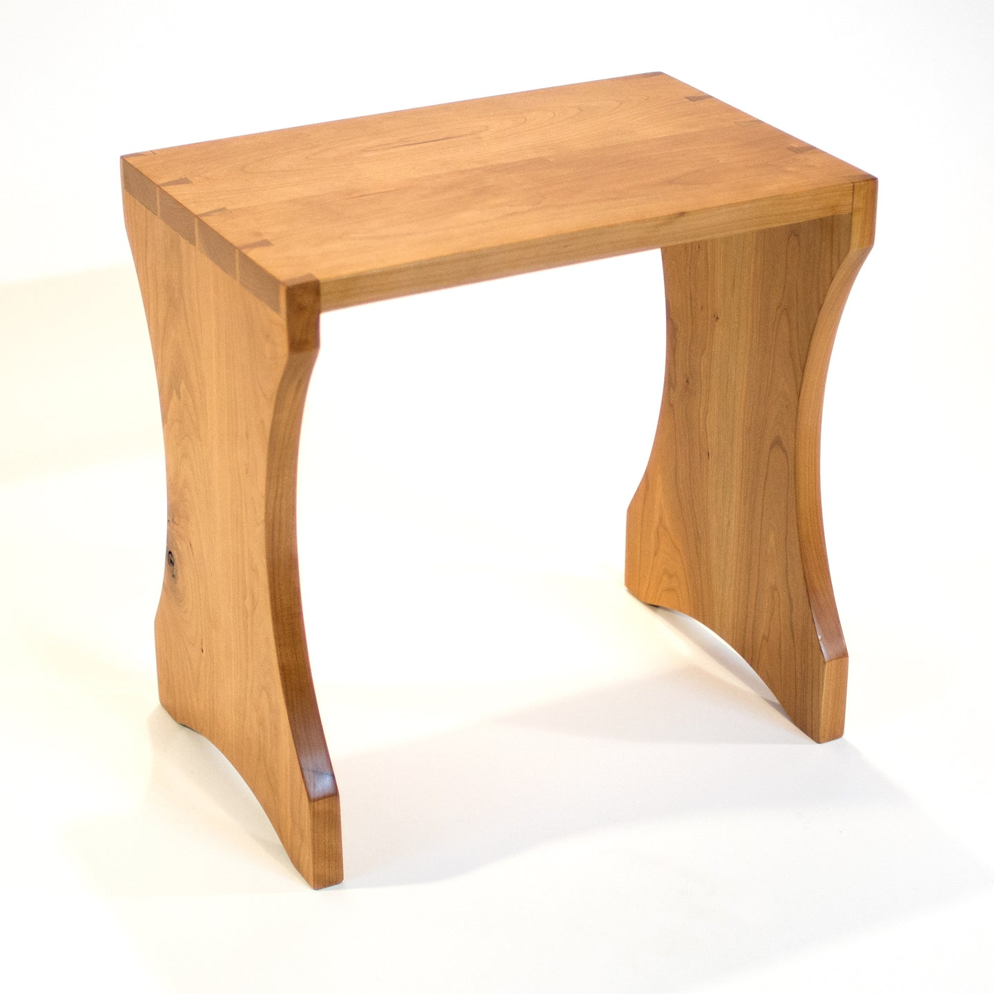 Eric Blanpied Furniture - Halasana Bench, Cherry