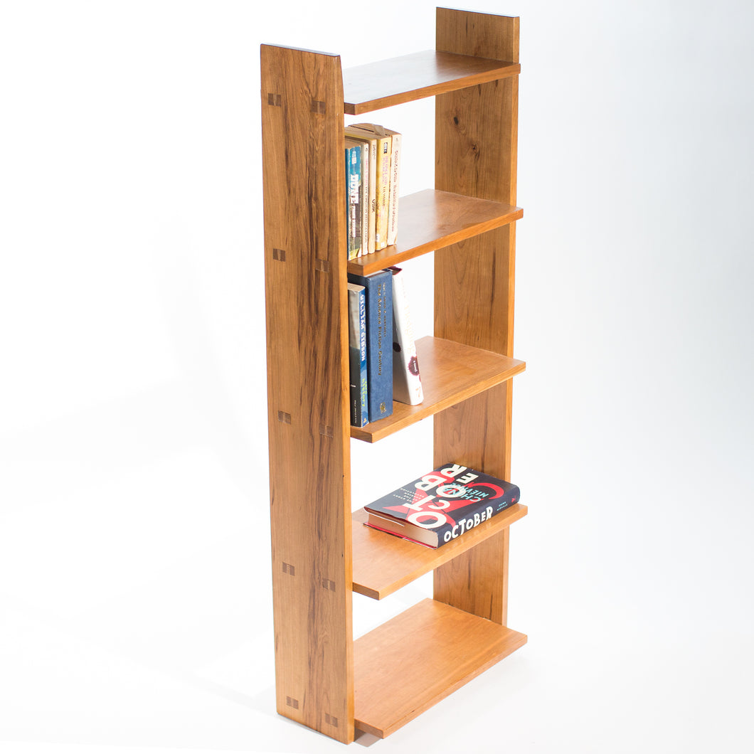 Eric Blanpied Furniture - Medium Open Bookcase, Cherry
