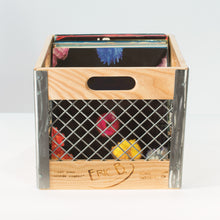 Eric Blanpied Furniture - Record Crate Prototype, Light Ash & Steel