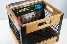 Eric Blanpied Furniture - Record Crate, Cherry & Steel
