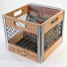 Eric Blanpied Furniture - Record Crate, Oak & Steel