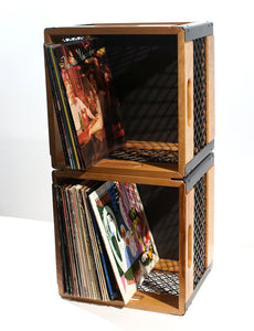 Eric Blanpied Furniture - Two Record Crates Stacked