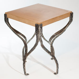 Eric Blanpied Furniture - X Table, Maple & Steel
