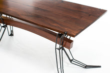 Eric Blanpied Furniture - Arc Trestle Table, Steel & Wood