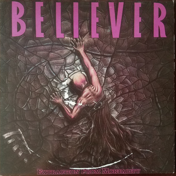 BELIEVER - EXTRACTION FROM MORTALITY (*Used-Vinyl, 1989, R.E.X.)