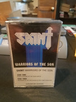 SAINT - WARRIORS OF THE SON *NEW CASSETTE, 1984, Rotton Records
