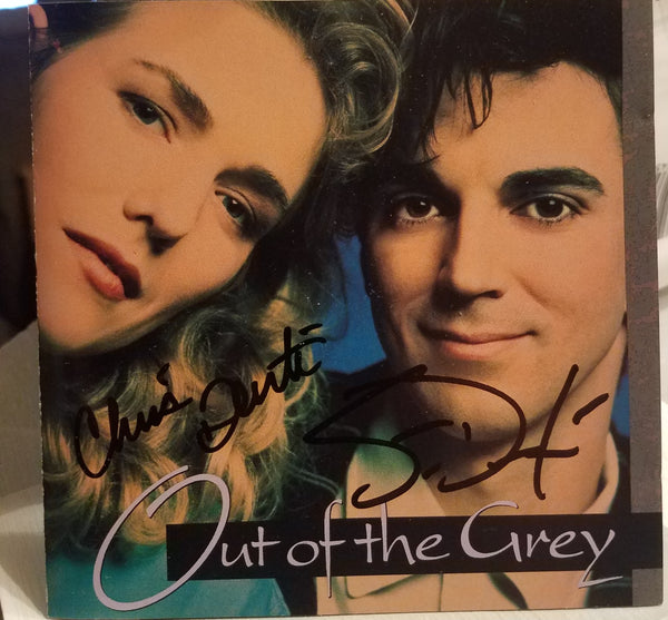 Out Of The Grey ‎– Out Of The Grey (*Used-CD, 1991, Sparrow) ***AUTOGRAPHED