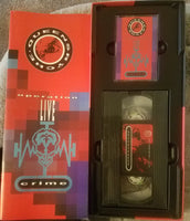 QUEENSRYCHE - OPERATION LIVE CRIME (*Cassette + VHS Tape, 1991, EMI)