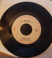 "Stryper ‎– Honestly + Sing-a-long-Song Vinyl, 7"", Single, 45 RPM"