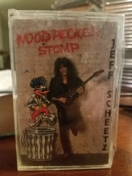 Jeff Scheetz ‎– Woodpecker Stomp (*NEW-TAPE, 1990, RE-FLEXX Records)