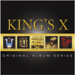 KING'S X - THE ORIGINAL ALBUM SERIES (*NEW-5x CD Set) First 5 CDs - all epic and awesome