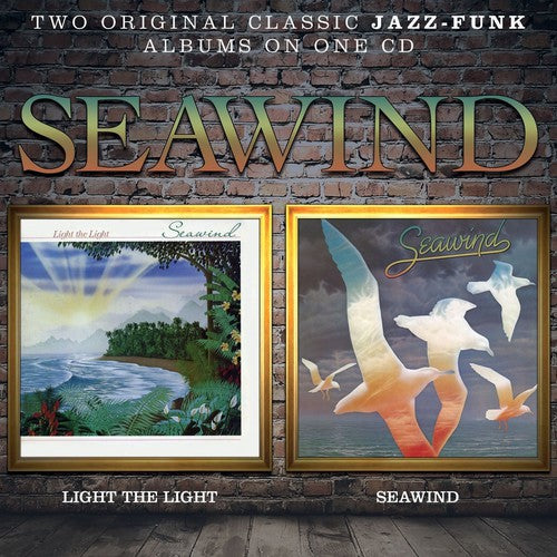 Seawind ‎– Light The Light / Seawind (*NEW-CD, 2014) Two Albums Remastered Classic Christian Rock from '79 & '80 from