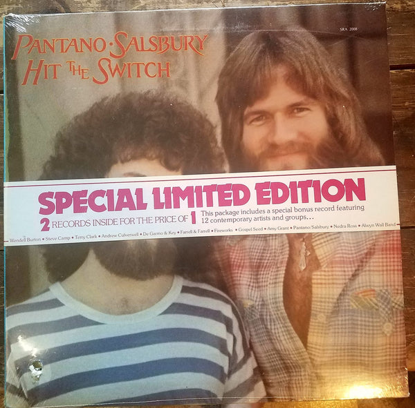 PATANO / SALSBURY - HIT THE SWITCH (*SEALED 2-LP Set, 1978, Myrrh/Solid Rock)