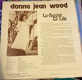 Donna Jean Wood ‎– La-Hayim To Life (*Used-Private Xian Psych Angelic LP Messianic)