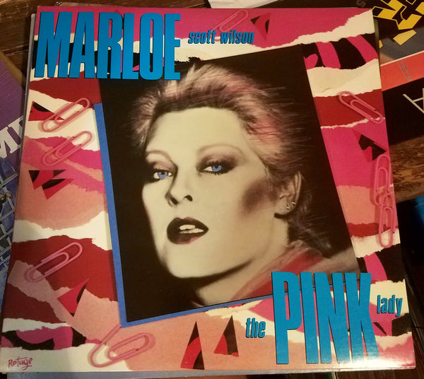 MARLOE SCOTT WILSON - THE PINK LADY (*Used-Vinyl, 1985, Refuge Records) AoR Rock