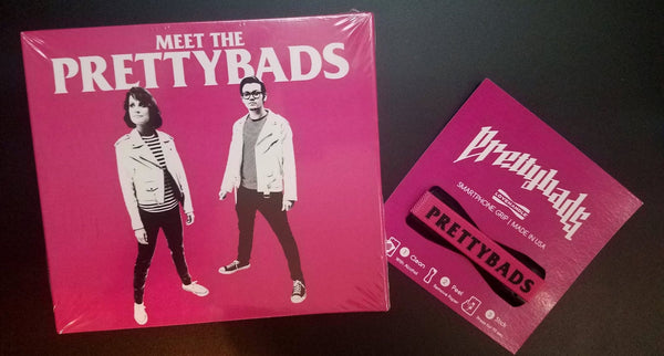 THE PRETTYBADS - MEET THE PRETTYBADS (*NEW-CD, 2018, Indie Vision) FREE SMARTPHONE GRIP