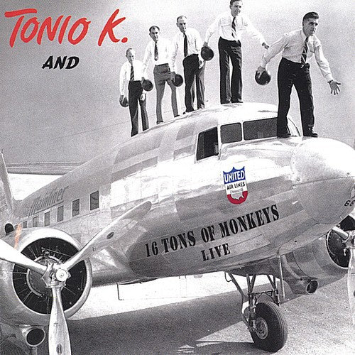 Tonio K. And 16 Tons Of Monkeys ‎– 16 Tons Of Monkeys: Live (*NEW-CD) Classic Christian Rock!