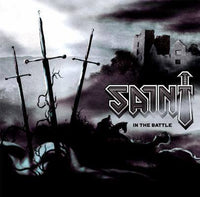 SAINT - IN THE BATTLE (*NEW-White Vinyl, 2018, Armor Records)
