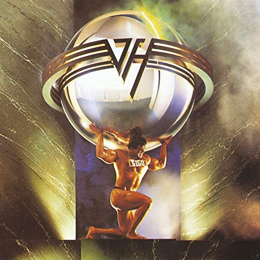 VAN HALEN - 5150 (*Used-CD, 1989, Warner)