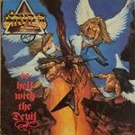 STRYPER - TO HELL WITH THE DEVIL (1986, Vinyl, Seoul Records/Enigma) Korean Issue with superb insert Famous Angel Cover
