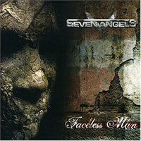 SEVEN ANGELS - FACELESS MAN (*NEW-CD, 2006, Bombworks) Female fronted Christian Metal!