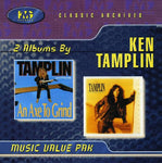 KEN TAMPLIN - AXE TO GRIND + SOUL SURVIVOR (*NEW-CD, 1999, KMG) 2 albums on 1 Disc