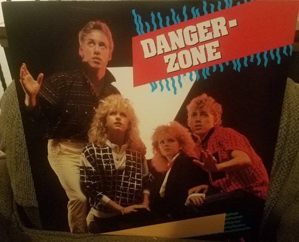 DANGERZONE - DANGERZONE (*Used-Vinyl, 1985, Refuge Records) AoR for fans of Whiteheart