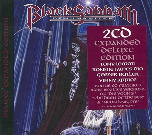 Black Sabbath ‎– Dehumanizer (*NEW-2-CD Set) Deluxe Expanded Edition