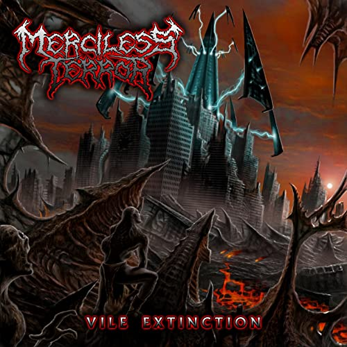 Merciless Terror ‎– Vile Extinction (Pre-owned CD, 2013, Devil's Clause Records) Death Metal