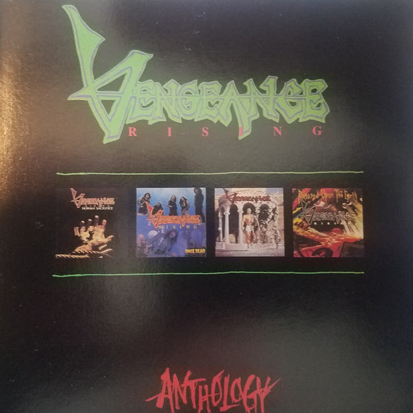 VENGEANCE RISING - ANTHOLOGY (*Pre-Owned CD, 1993, Intense) Rare CD!